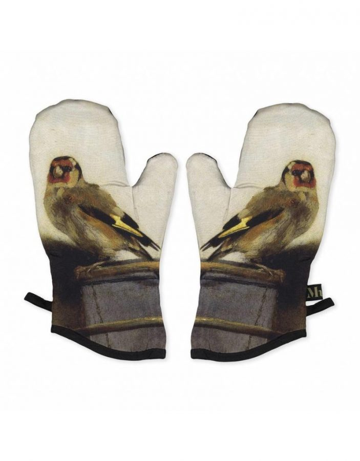 Carel Fabritius, The Goldfinch, oven mitts, Mauritshuis, Hague