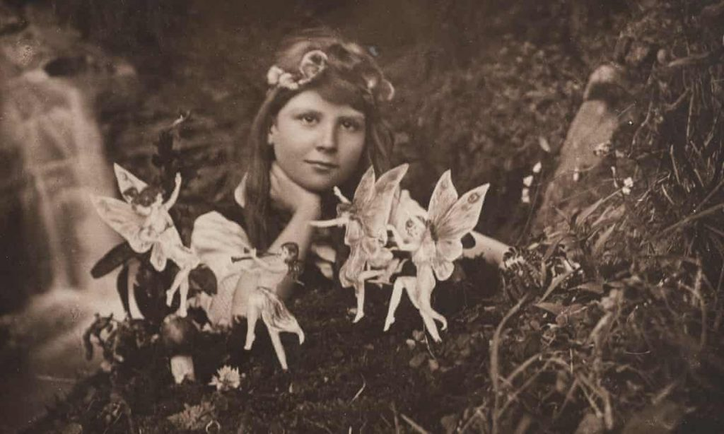 Secrets of ghost photography:  Elsie Wright, Frances Griffiths with the Cottingley fairies