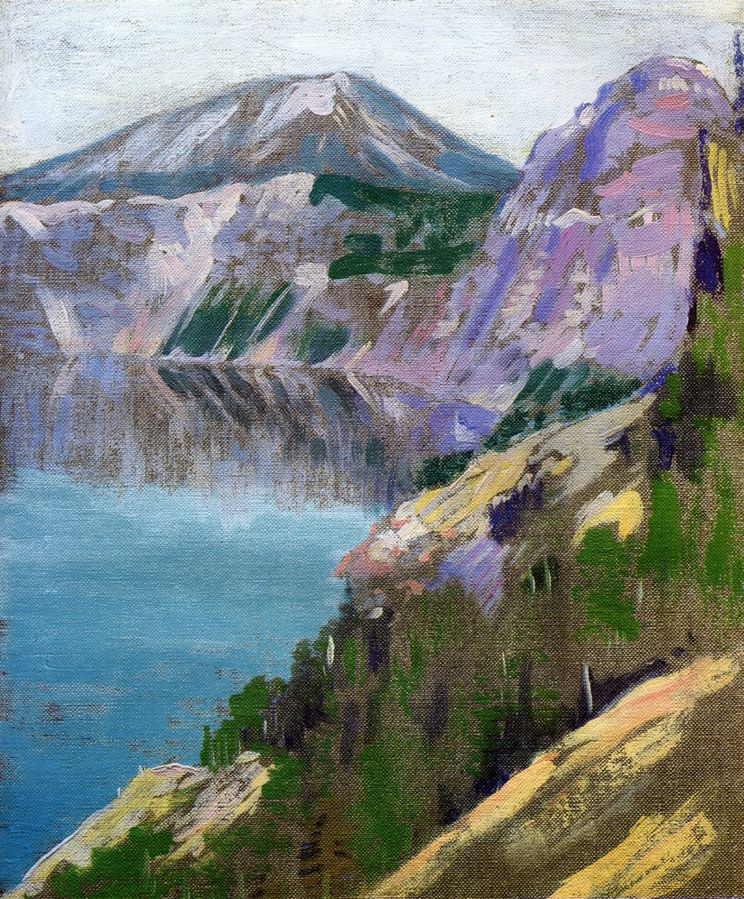 Arthur Wesley Dow, Crater Lake.