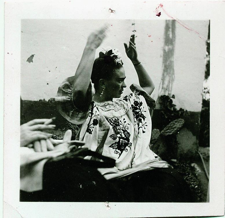 Frida Kahlo at Casa Azul