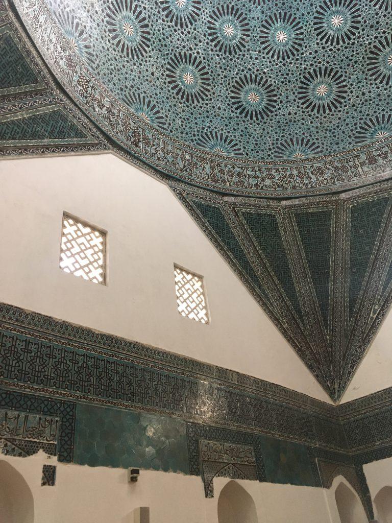 Interior view of Karatay Medresesi Museum, Konya, Turkey.