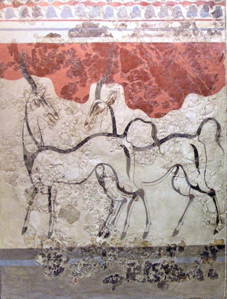 Antelopes, circa 1600 B.C., National Archeological Museum, Athens, Greece