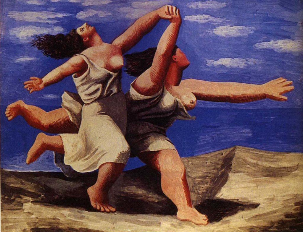 Ten Beaches in Art: Pablo Picasso, Two Women Running on the Beach (The Race), 1922, Musée Picasso, Paris, France - Ten Beaches in Art
