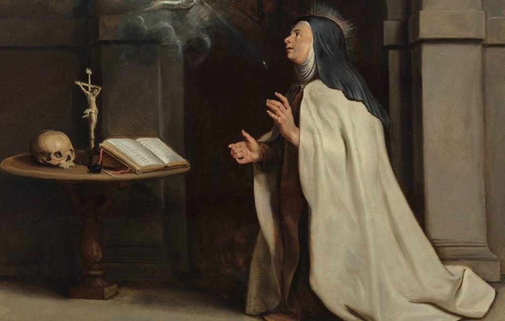 Peter Paul Rubens, Saint Teresa of Ávila's Vision of the Holy Spirit,