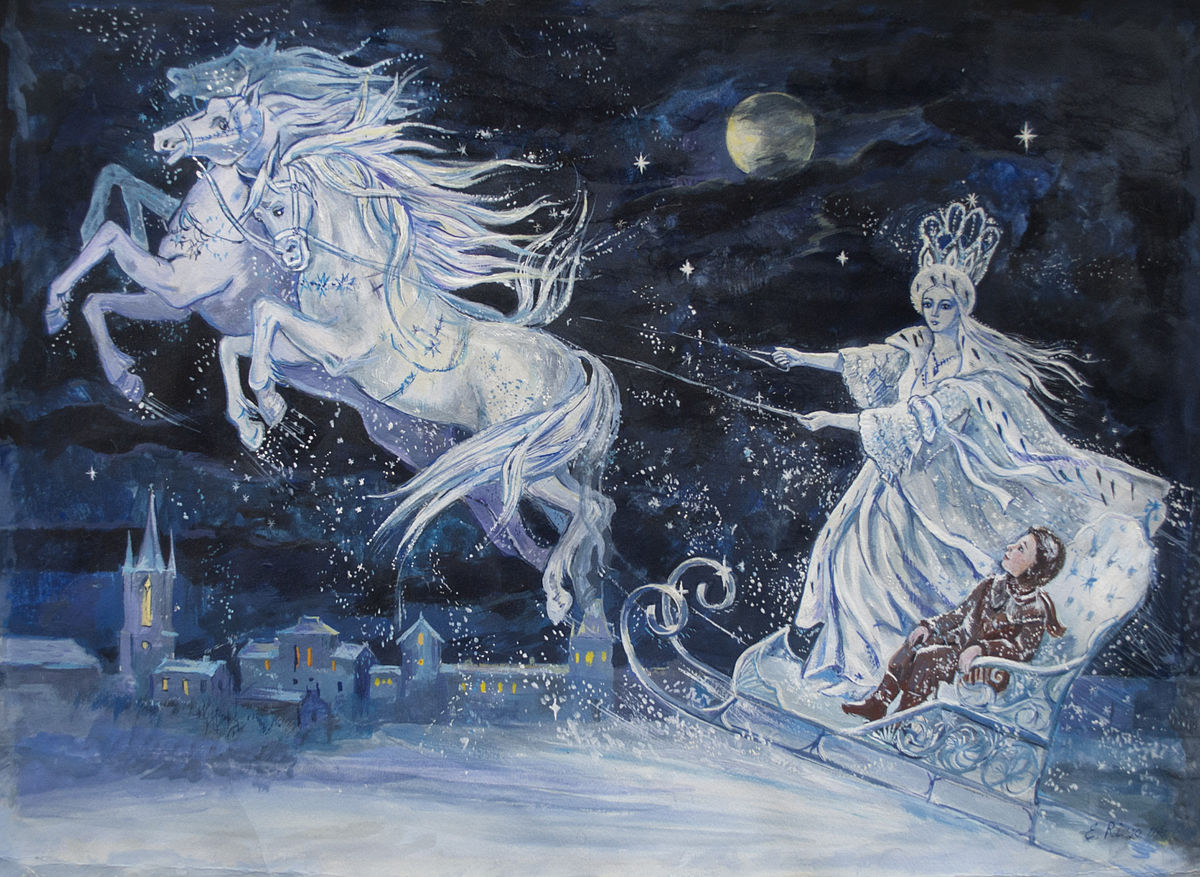 Elena Ringo, The Snow Queen, illustration. Victoria Buzz.