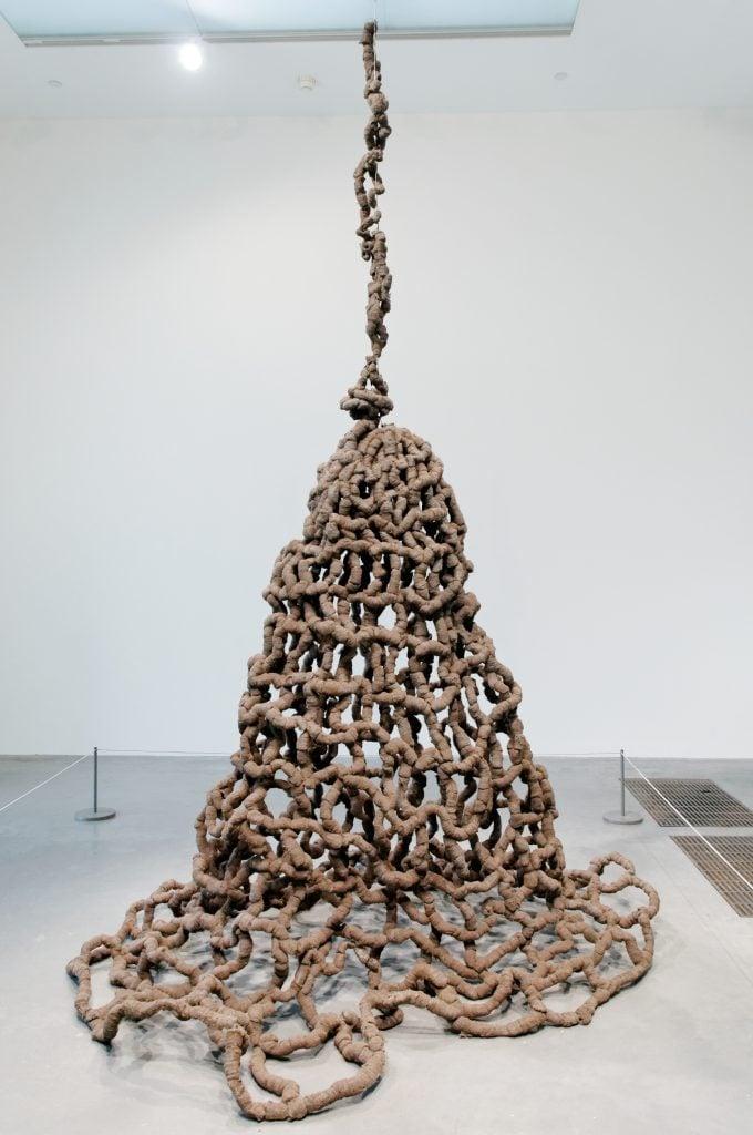 Arte Povera: Pino Pascali, Trappola (Trap), 1968, Tate Modern, London, UK. Source: Tate Modern.