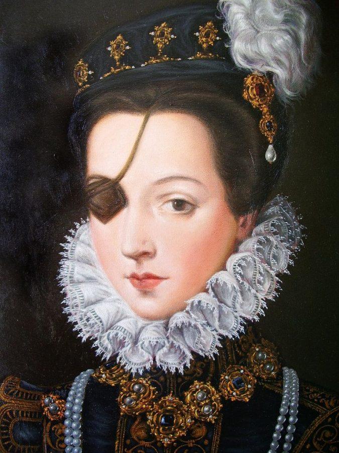 Alonso Sanchez Coello (attr.), Portrait of Ana de Mendoza y de la Cerda Princess of Eboli,