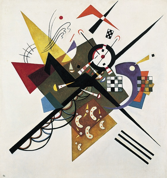 Masterpieces to boost good Feng-shui: Wassily Kandinsky, On white II, 1923, Weimar, Germany.