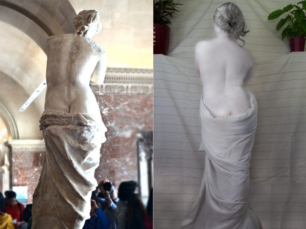 Venus de Milo by Mills and Mills, after Alexandros of Antioch