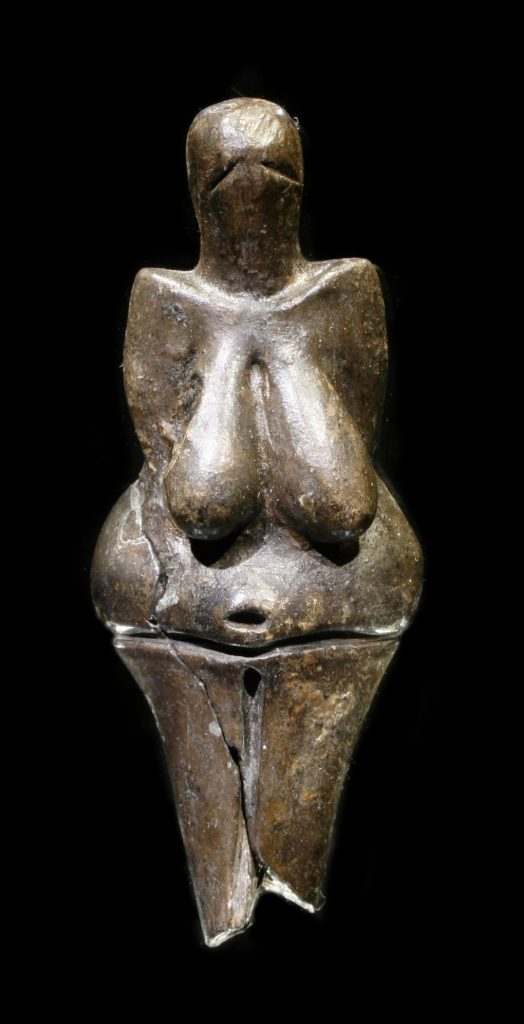 prehistoric mobiliary art: Venus of Vestonice, Oldest known work of terracotta sculpture in the world,