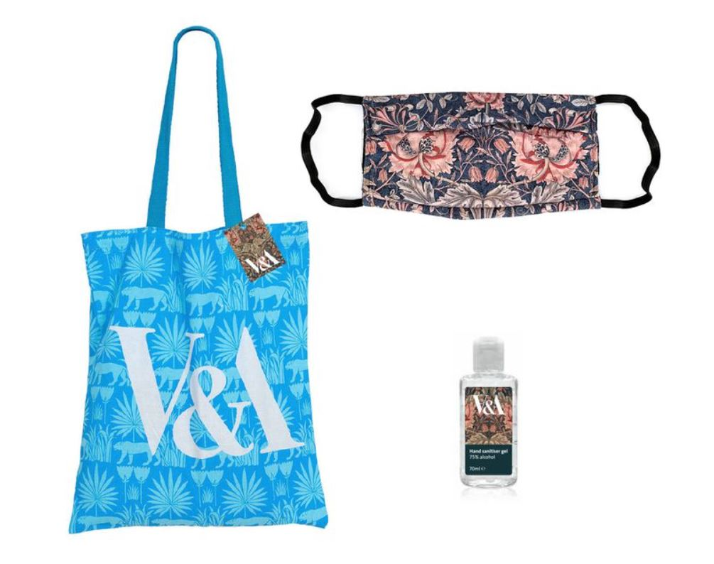 Best 2020 Christmas Gifts from Art Museums: Victoria & Albert welcome pack, Victoria & Albert Museum, London