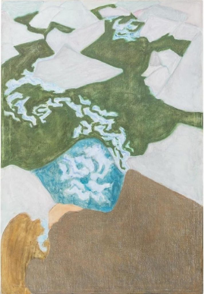 Artistic families: Sally Michel-Avery, Rushing Brook #2