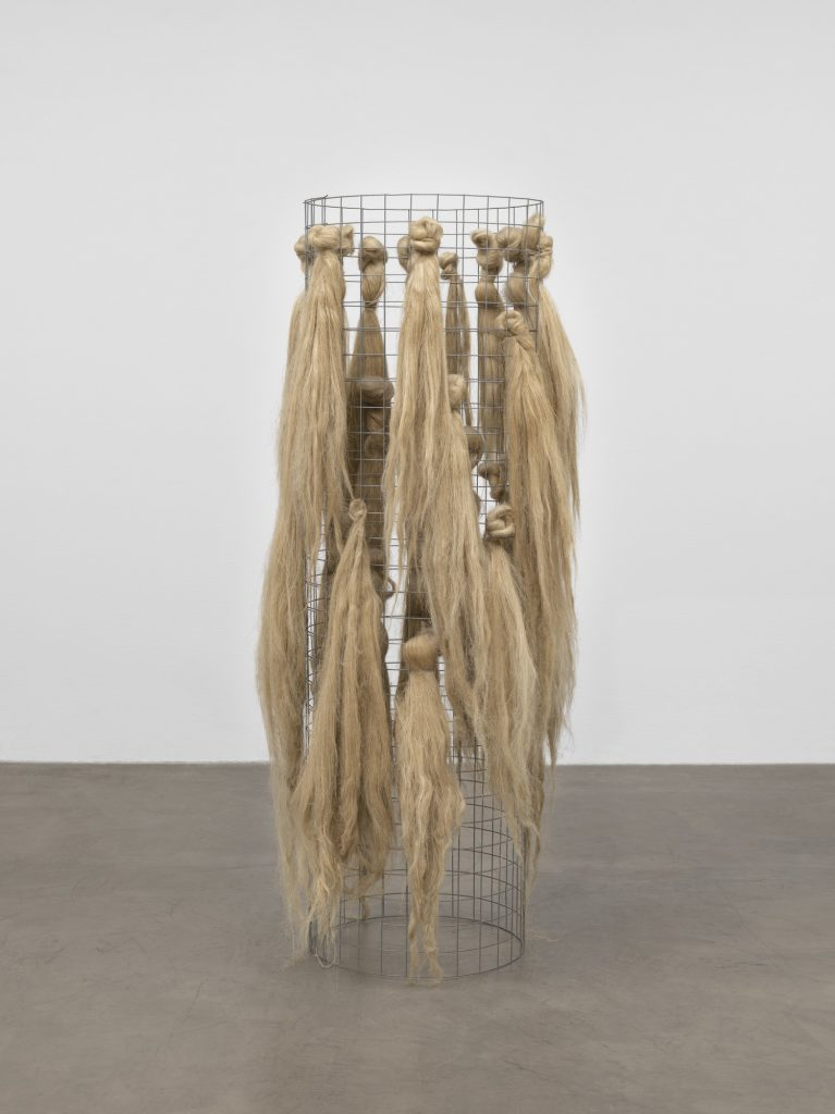 Arte Povera movement: Marisa Merz, Untitled, 1966, MoMa. NY. .