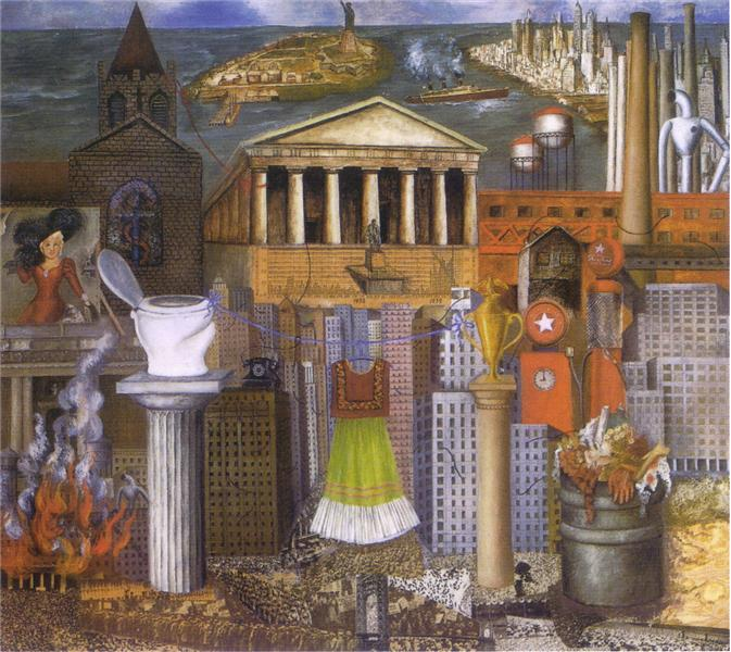 Frida Kahlo, My Dress Hangs There,