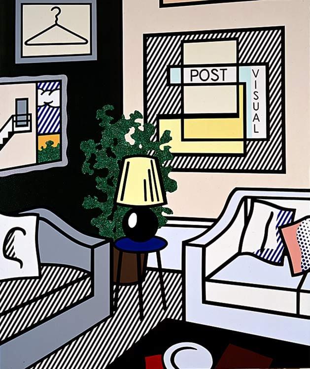 Roy Lichtenstein, Post Visual, 1993, UBS Art Collection.