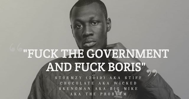 Stormzy, image by Sydesjokes/Instagram,