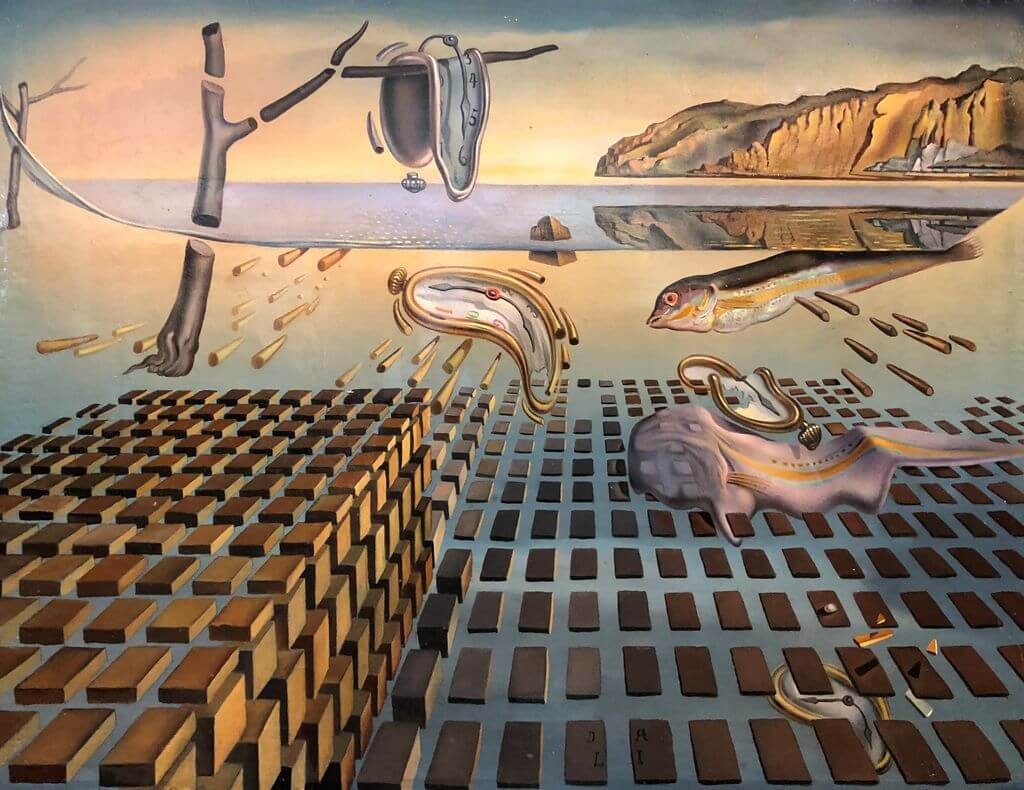 What makes an artwork famous? Salvador Dali, The Disintegration of the Persistence of Memory.