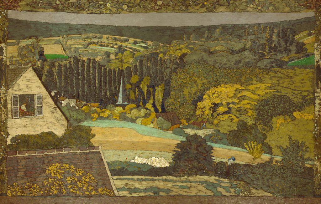 Édouard Vuillard, Window Overlooking the Woods