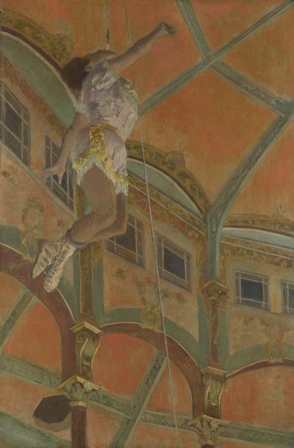 Degas at the Cirque Fernando, Miss La la, The National Gallery