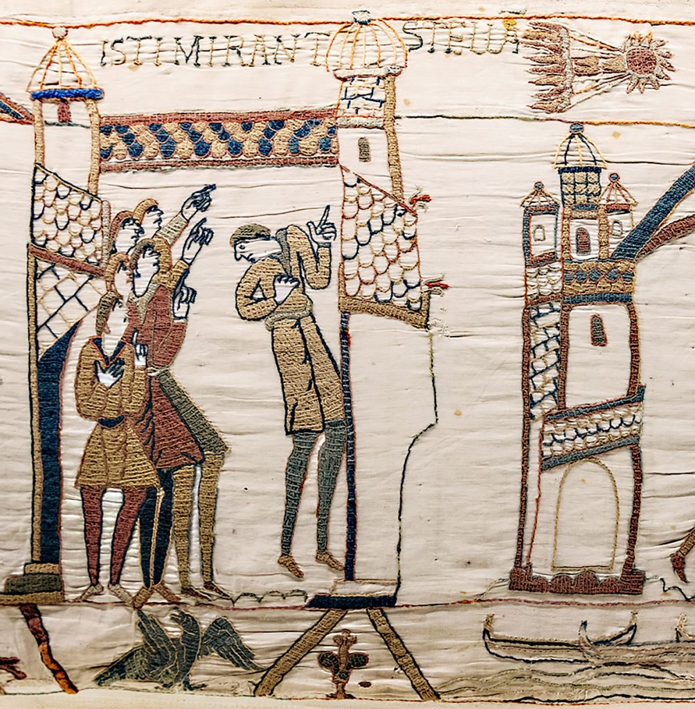 Detail from the Bayeux Tapestry, 11th century, Bayeux Museum