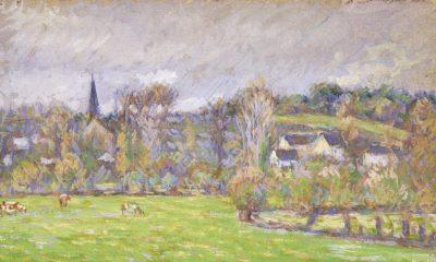 Camille Pissarro View of Bazincourt cover