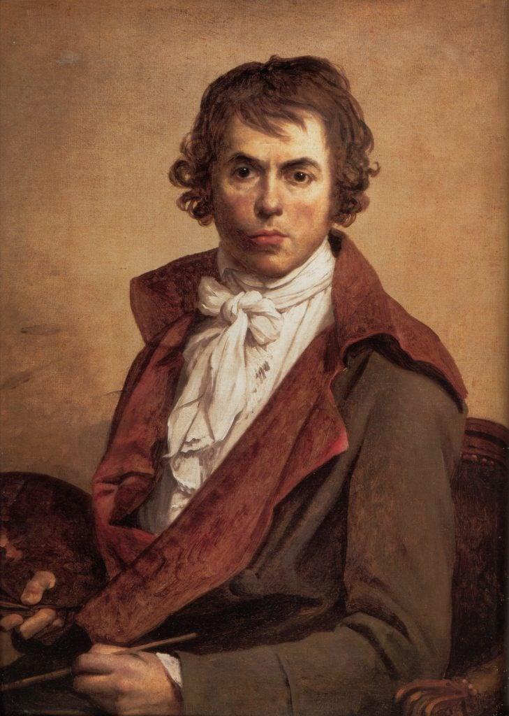 Self Portrait of Jacques-Louis David
