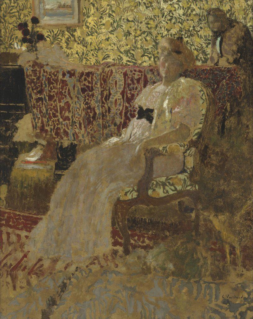 Édouard Vuillard, Misia et Thadée Natanson (La femme au fauteuil) (The Woman in the Chair)