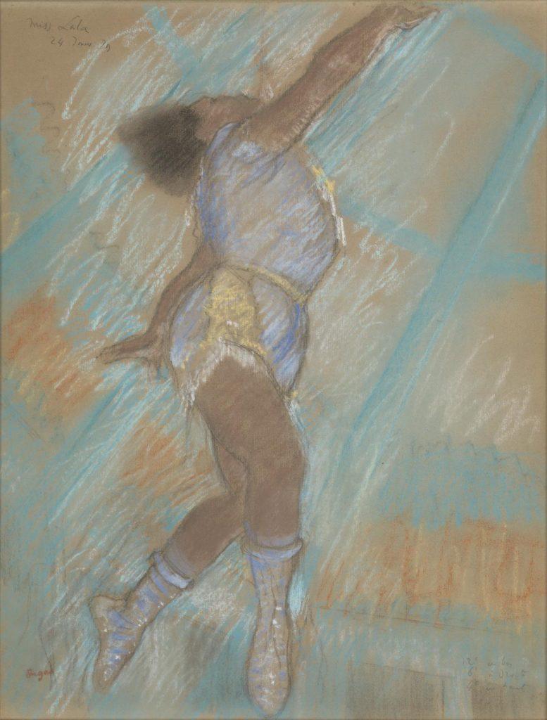 Edgar Degas, Miss Lal a at the Cirque Fernando
