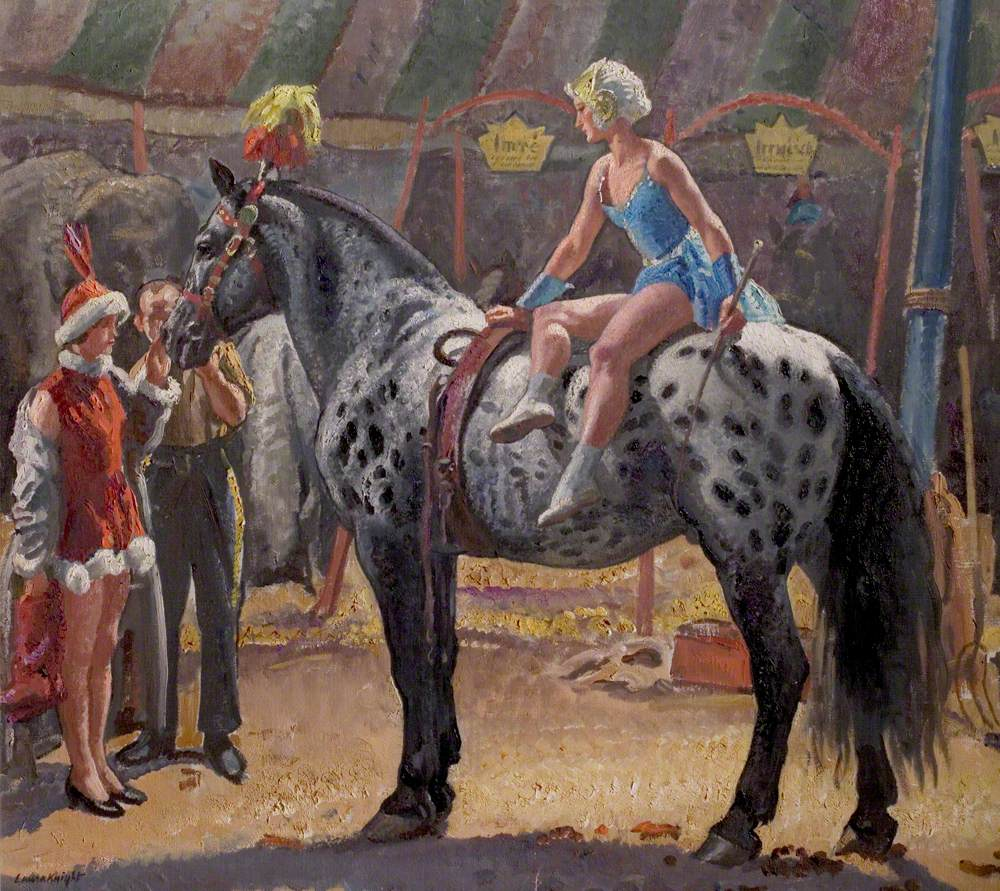 Dame Laura Knight, Elsie on 'Hassan', 1929, Nottingham City Museums and Galleries, Nottingham, UK.