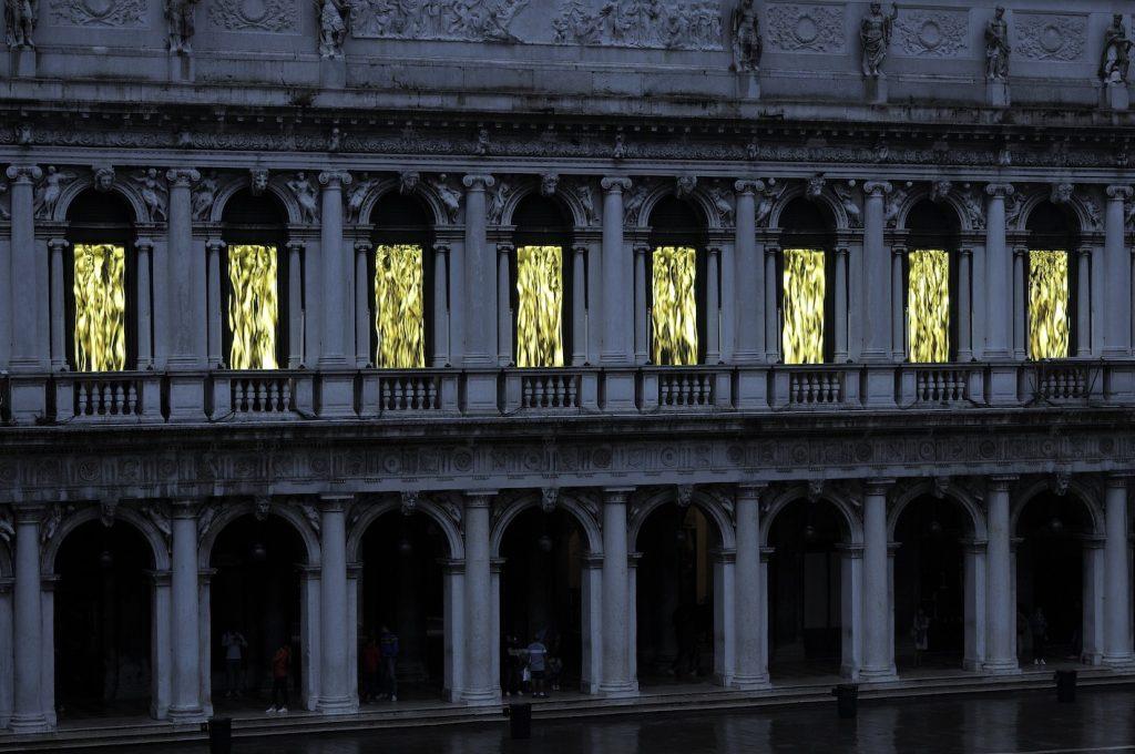 Fabrizio Plessi, The Golden Age, 2020, Museo Correr, Venice, Italy.