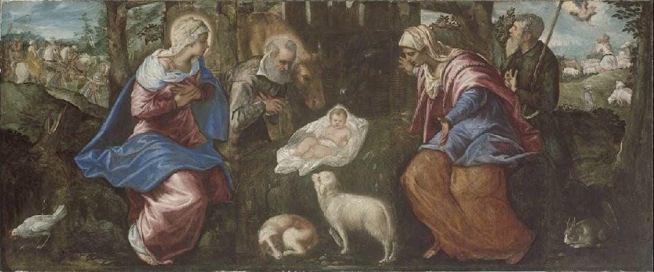 Jacopo Tintoretto, The Nativity, late 1550s, Museum of Fine Arts, Boston, MA, USA.