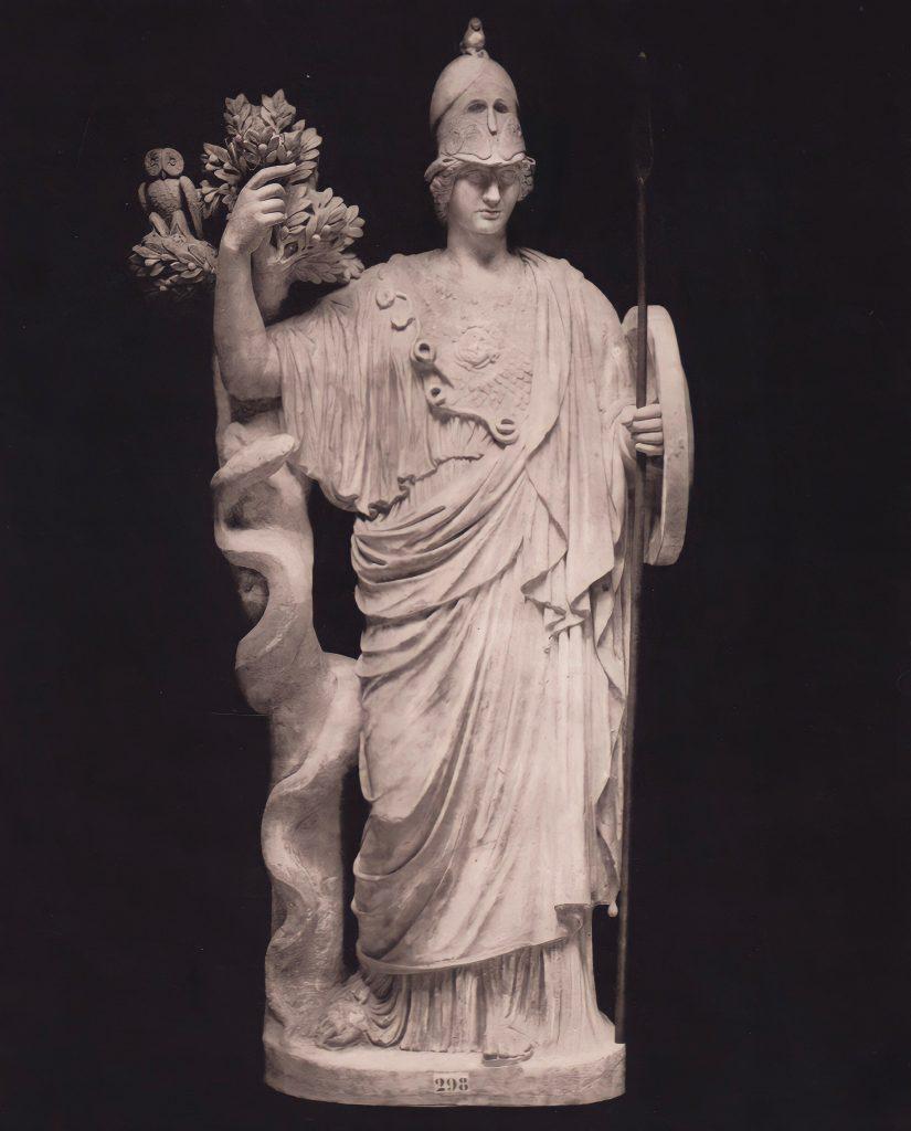 Torlonia Marbles Classical Collection Statue of Athena.Musei Capitolini, Fondazione Torlonia, Rome, Catalogo Del Museo Torlonia Di Sculture Antiche
