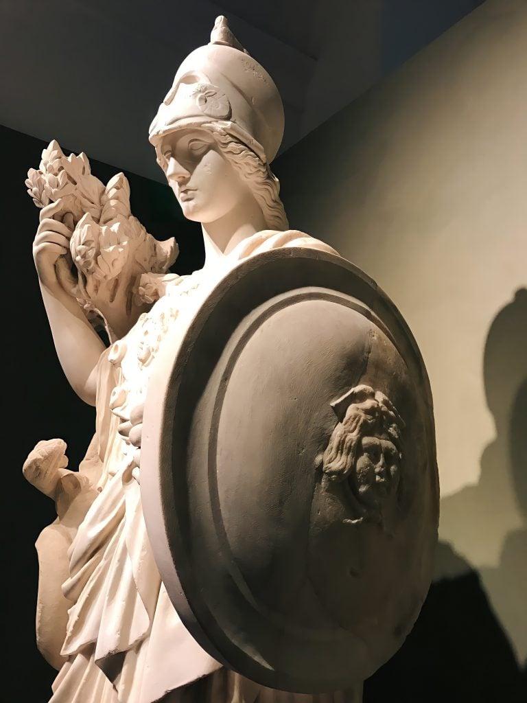 Torlonia Marbles Classical Collection Statue of Athena. statue of Athena, Musei Capitolini, Fondazione Torlonia