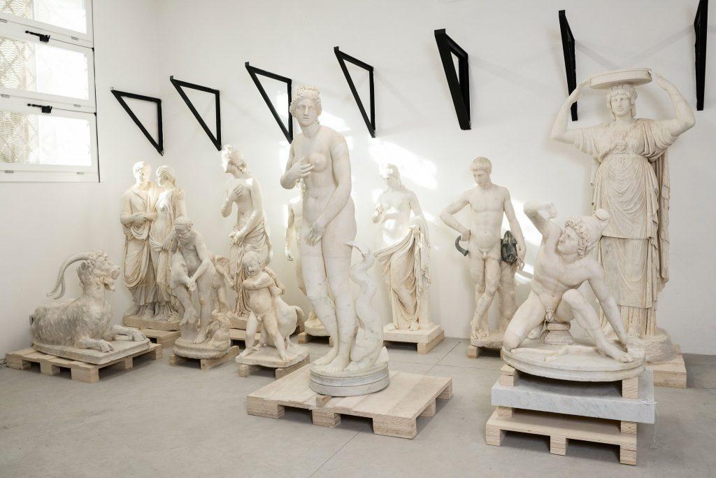 Torlonia Marbles Classical Collection: Small part of the collection, Musei Capitolini, Fondazione Torlonia
