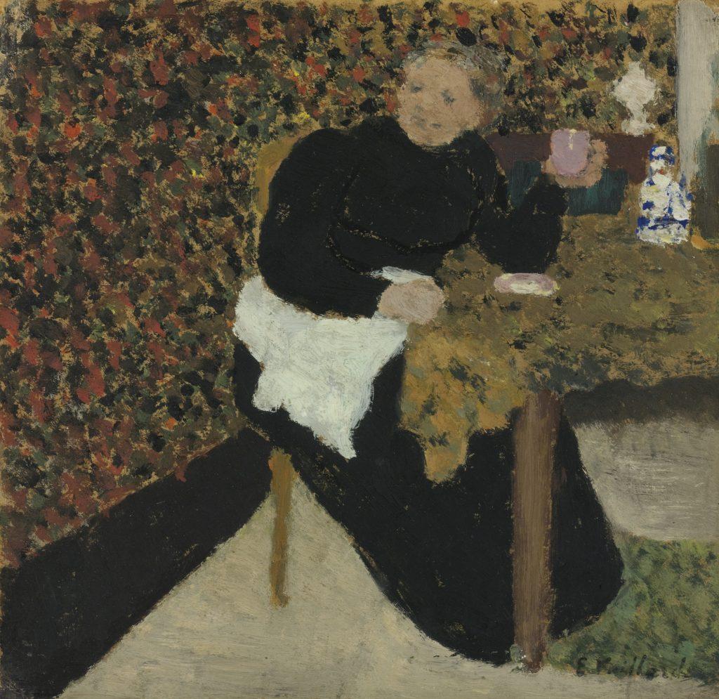 Édouard Vuillard, Madame Vuillard Avec Une Tasse Rose (Madame Vuillard With A Pink Cup),