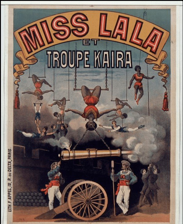 Cirque Fernando poster, National library of France