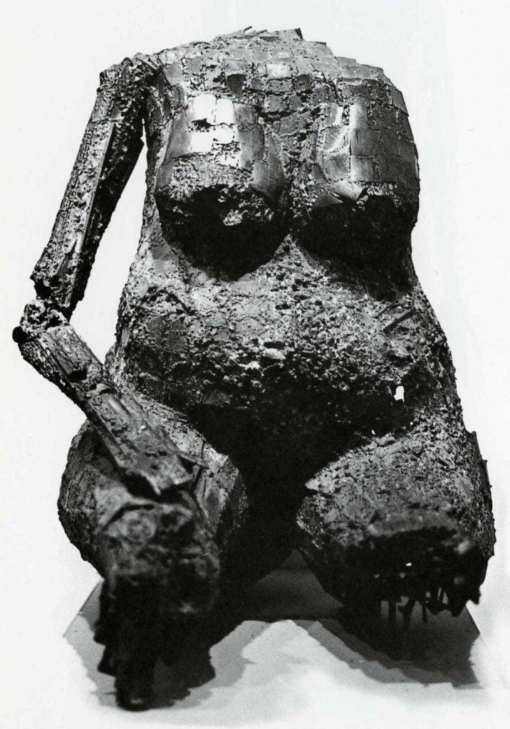 César Baldaccini, Torso, 1954, MoMA, NY.