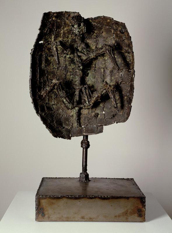 César Baldaccini, Tortue, 1956-57, Centre Pompidou, Paris, France.