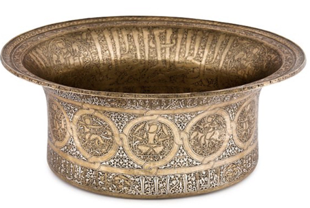 Basin with the signs of the zodiac, ca. 1240-1300, The Metropolitan Museum of Art, New York, NY, USA.