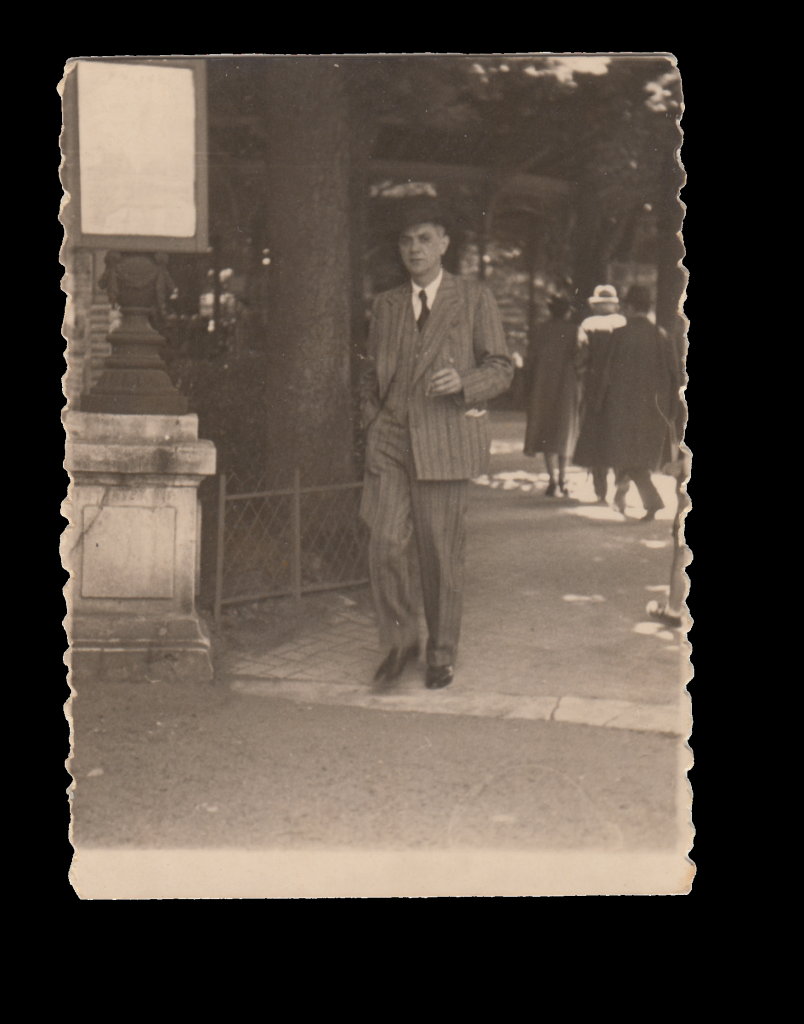 Maurice Nadler in Berlin, ca. 1930. From the catalog of the exhibition, Nadler Collection. Georgia Museum