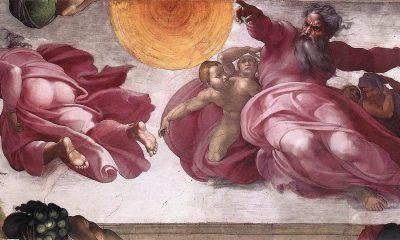 Flying Objects in Art: Michelangelo, Sistine Chapel
