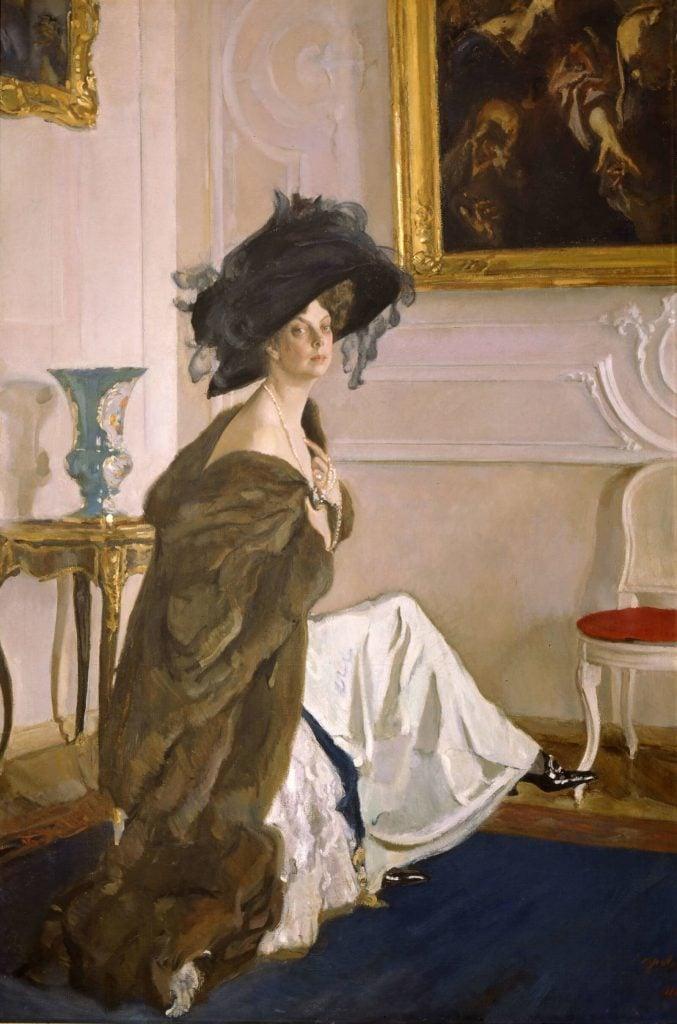 Valentin Serov, Princess Olga Orlova, 1911, State Russian Museum, Saint Petersburg, Russia.