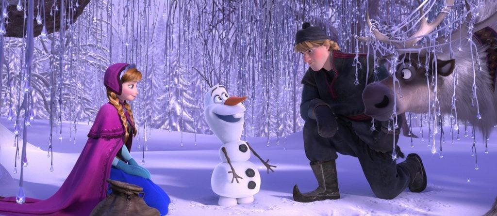 Frozen, 2013, movie frame, Walt Disney Pictures.