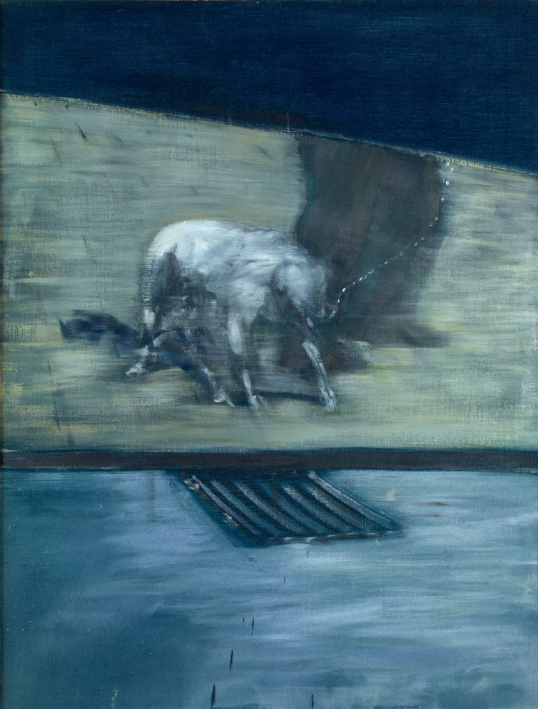 Francis Bacon, Man with a Dog, 1953,  Albright-Knox Art Gallery, © Estate of Francis Bacon