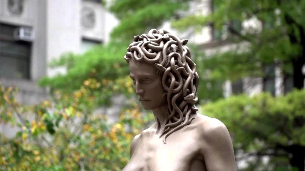 Myth of Medusa: Luciano Garbati, Medusa with the head of Perseus, 2008, New York City Parks, New York City, NY, USA. Laran Bronze Fine Art Foundry, Philadelphia, USA.