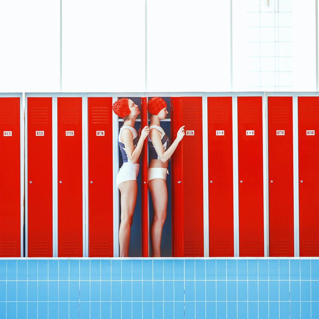 Mária Švarbová, Hide, The Swimming Pool series, Slovakia.