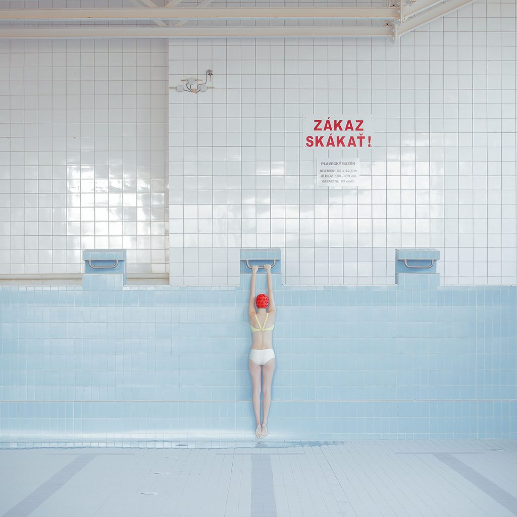 Mária Švarbová, Pool Without Water, The Swimming Pool series, Slovakia.