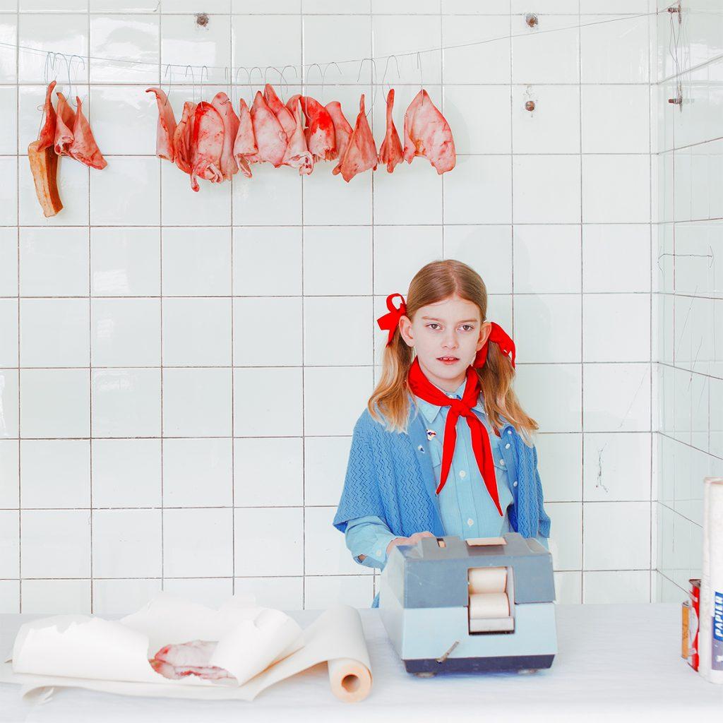 Mária Švarbová, The Butcher series, Slovakia.