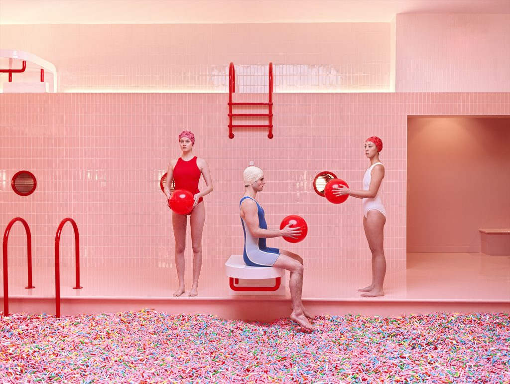 Mária Švarbová, Photographic series commissioned by Museum of Ice Cream, New York.