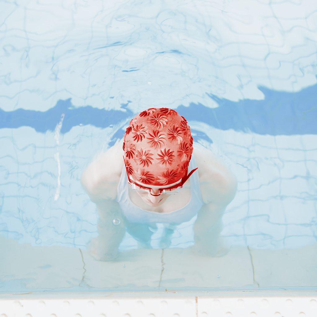 Mária Švarbová, Red Head, The Swimming Pool series, Slovakia.